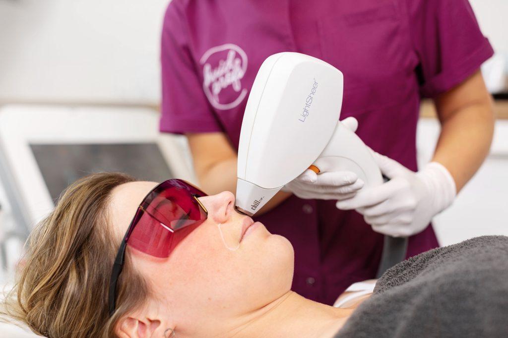diode laser behandeling